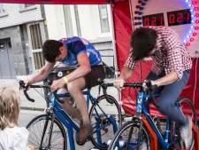 Nog extra wielergekte op het Zuid met gratis buurtfeest en koers op rollen