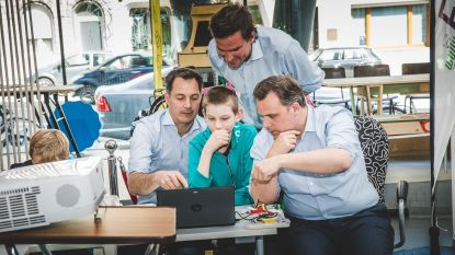 Digital Belgium Skills Fund investeert 230.000 euro in Gents makerslab Fyxxi