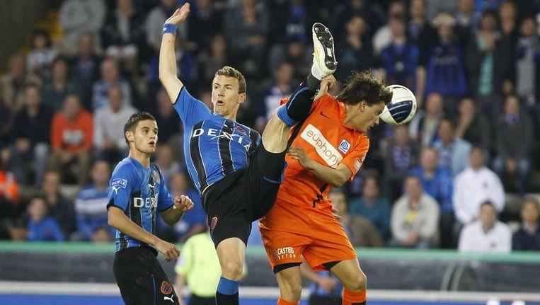 Perisic en Vossen strijden na de topschutterstitel nu ook voor de titel van Profvoetballer van het Jaar. Beeld BELGA