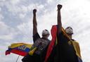 Demonstratie in Colombia.