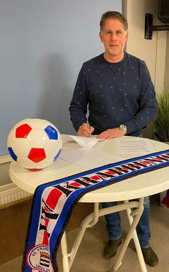 André Maas wordt de nieuwe trainer van Krabbendijke.