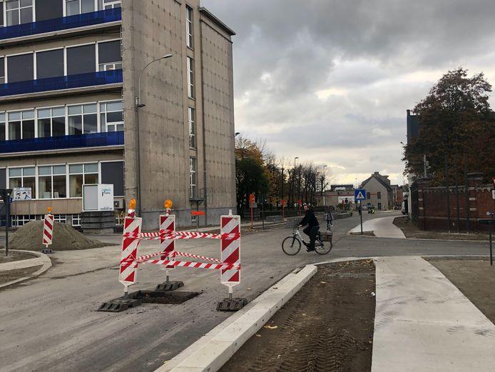 De laatste werken in de Aandorenstraat gaan binnenkort van start.