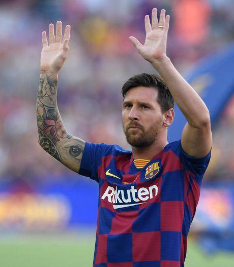Vertrek Lionel Messi bij Barcelona zorgt voor schokgolf in de voetbalwereld