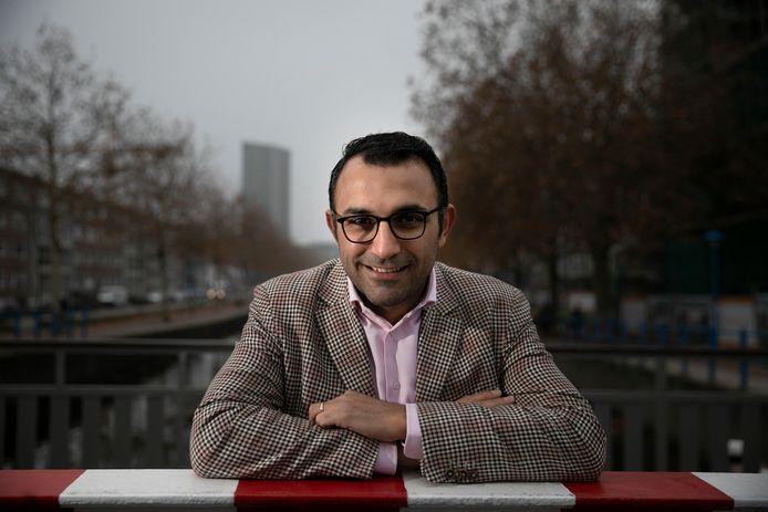 De Eindhovense wethouder Yasin Torunoglu.