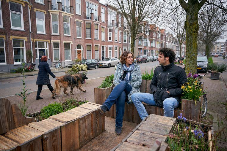 De DebatMobiel van Liane Lankreijer Beeld Phil Nijhuis
