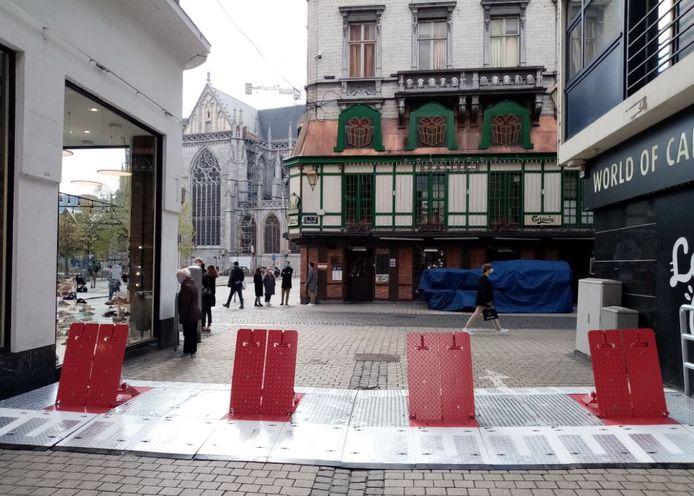 Liège investit dans du matériel de sécurisation de son espace public.