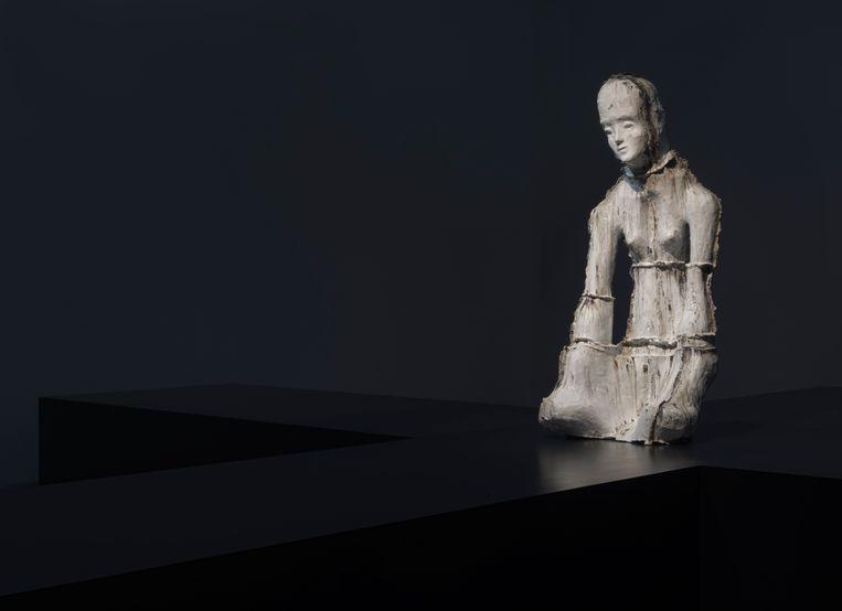 Werk van Johan Tahon op de expo in Oudenaarde. Beeld Johan Tahon