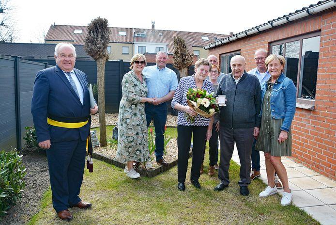 Jan Himbrecht en Nelly Desseyn vierden hun 65e huwelijksverjaardag
