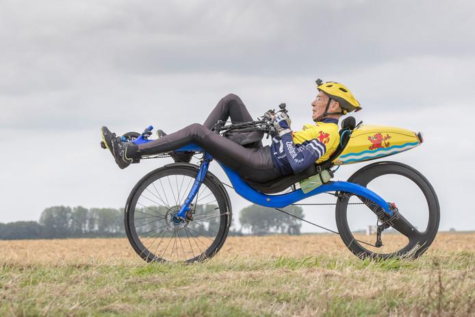 Jaap Bouman reed Parijs-Brest-Parijs niet uit.