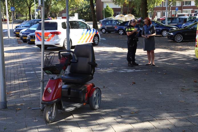 Vrouw in scootmobiel aangereden in Eindhoven