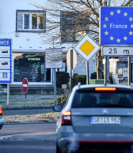 Frankrijk controleert toch streng op negatieve coronatesten bij grensovergang