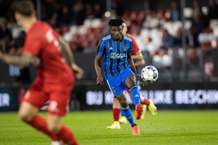 Mohammed Kudus maakte zijn rentree bij Jong Ajax.