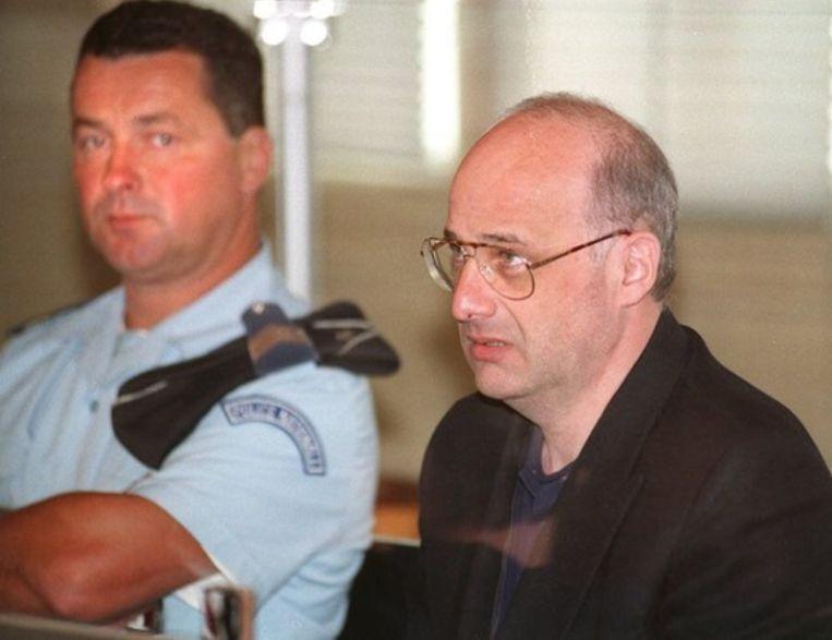 Jean-Claude Romand, ten tijde van zijn proces in 1996.