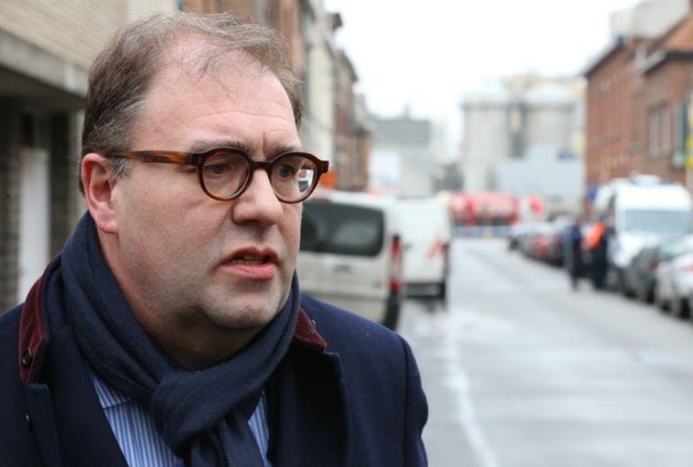 Burgemeester Christophe D'Haese (N-VA). Beeld belga
