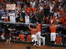 Honkballers Houston Astros slaan terug in World Series