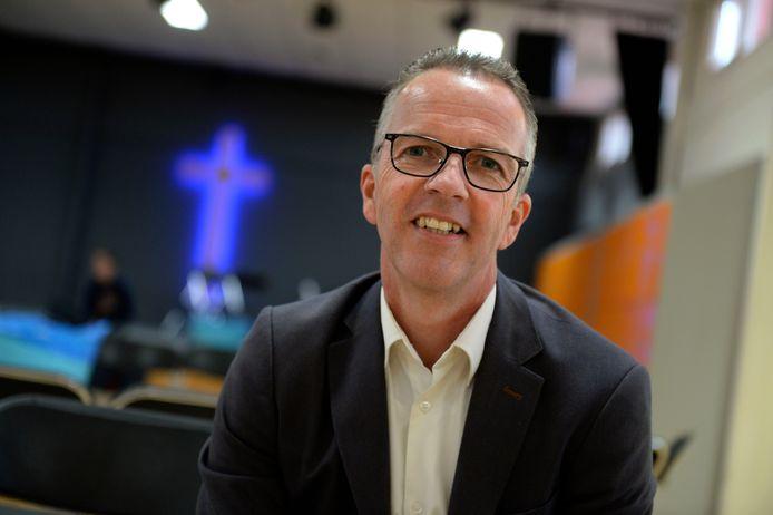 Directeur Leendert van den Dool van evangelische scholengemeenschap De Passie.