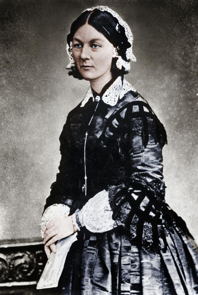 Florence Nightingale. 'Superslim en superfeministisch.' Beeld Getty