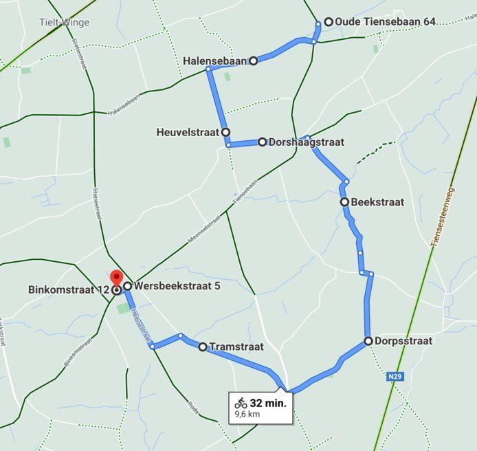 Het eerste deel van de fietsroute (9,6 km) brengt je doorheen de natuur van Bekkevoort en Tielt-Winge.