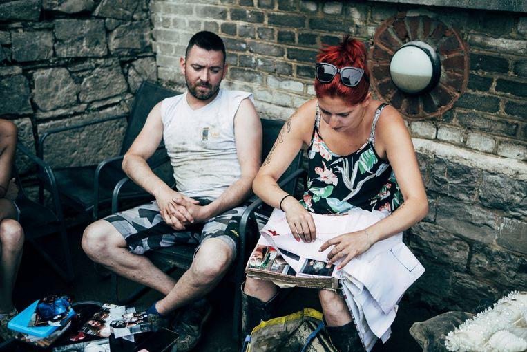 Kevin en Cindy, Fraipont. Beeld Anton Coene