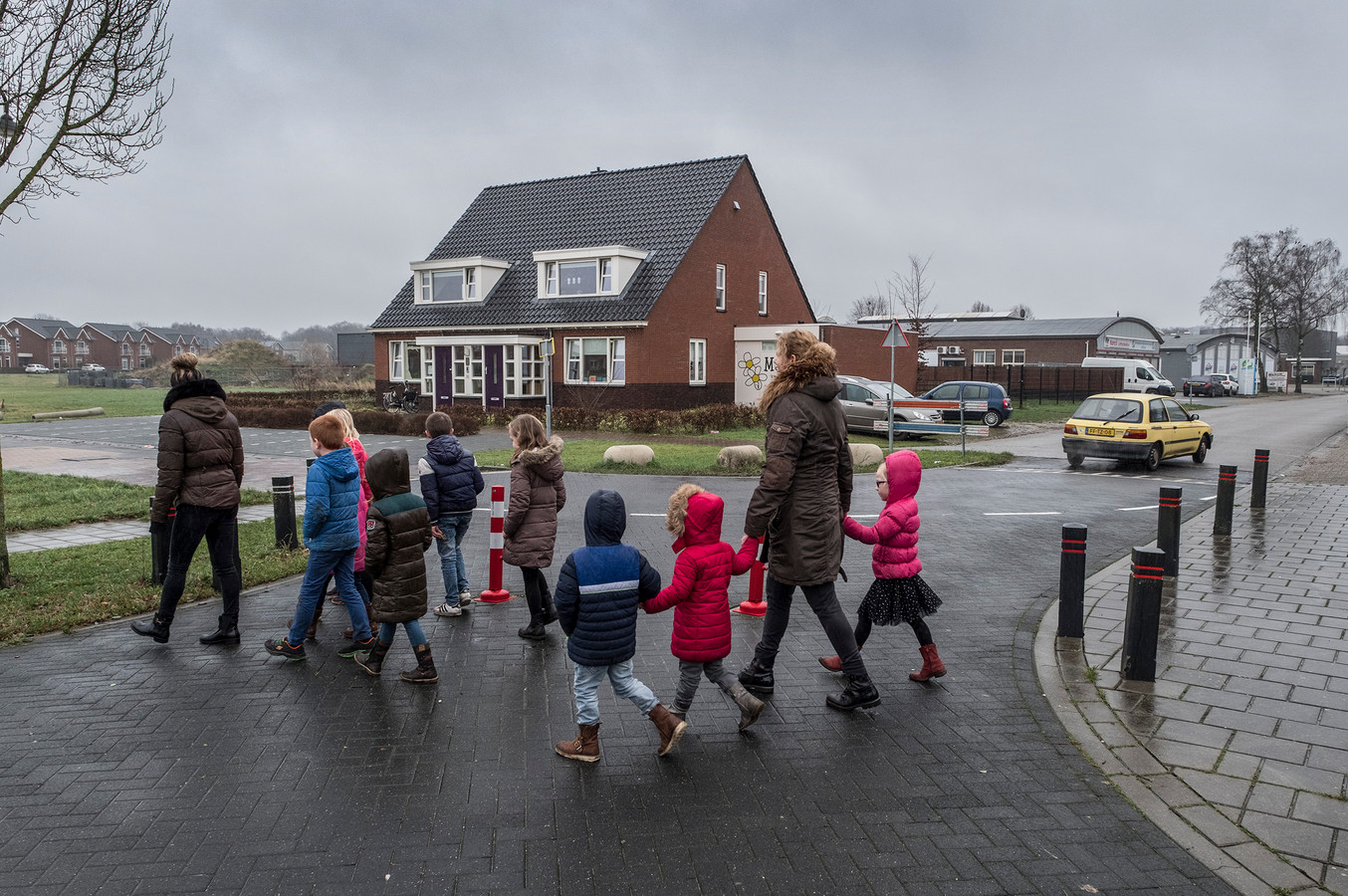Op de Rijssenbeeklaan / Willem Boyeweg zijn paaltjes gezet tegen het verkeer. Het verkeer hoort nu eigenlijk om te rijden via de Randweg. De Willem Boyeweg is sinds juli 2017 afgesloten voor vrachtverkeer.