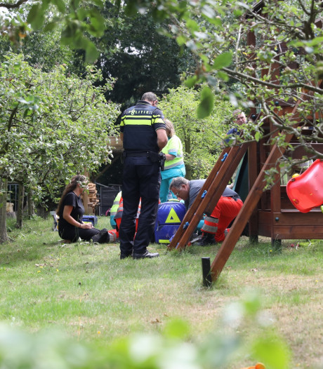 Kind gereanimeerd bij speeltoestel in Soest
