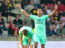 Cody Gakpo alweer terug in de groepstraining bij PSV