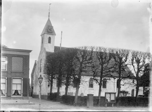 De oude kerk...