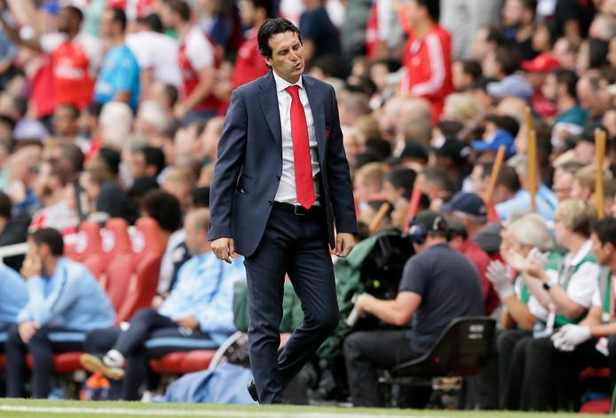 Unai Emery, de nieuwe trainer van Arsenal.