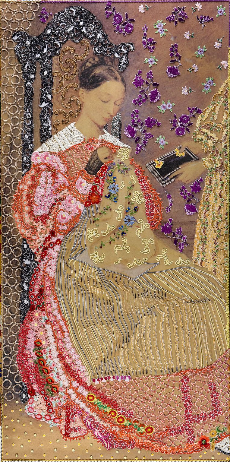 'On Victorian and Oriental Women' door Barbara Broekman. Beeld -