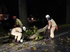 Oost-Nederland maakt de schade op na onrustige stormnacht
