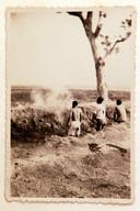 Een executie tijdens de politionele acties.