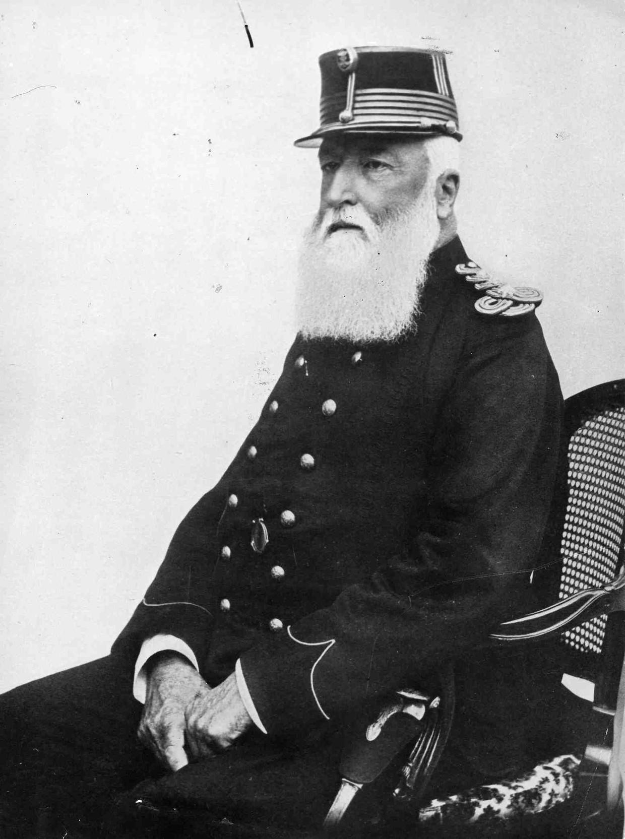 Koning Leopold II. Beeld Belga