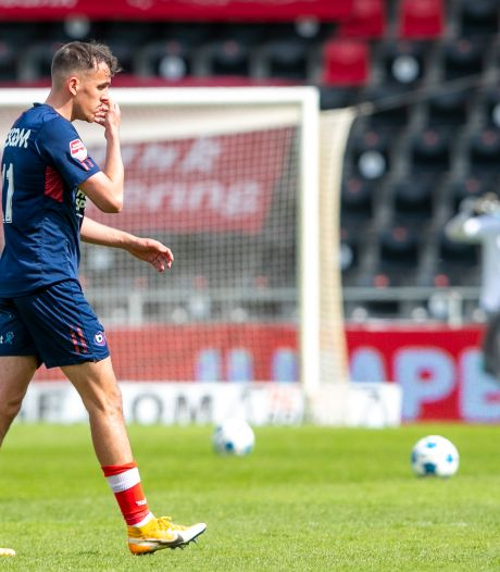 Helmond Sport kan play-offs wel vergeten na zwakke beurt tegen Go Ahead Eagles