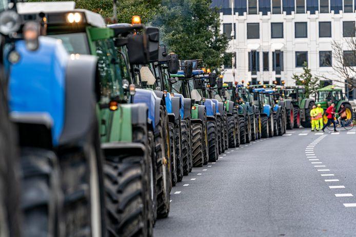 Op 1 oktober trokken boeren massaal naar Den Haag