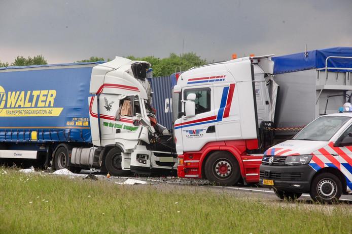 Dodelijk ongeval A29.