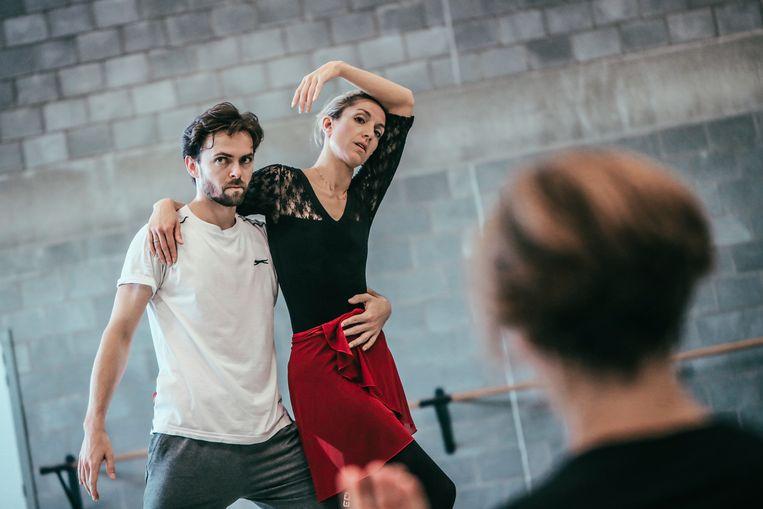 Hanne Decoutere en haar danspartner Gabor Kapin. Beeld © Alain Honorez