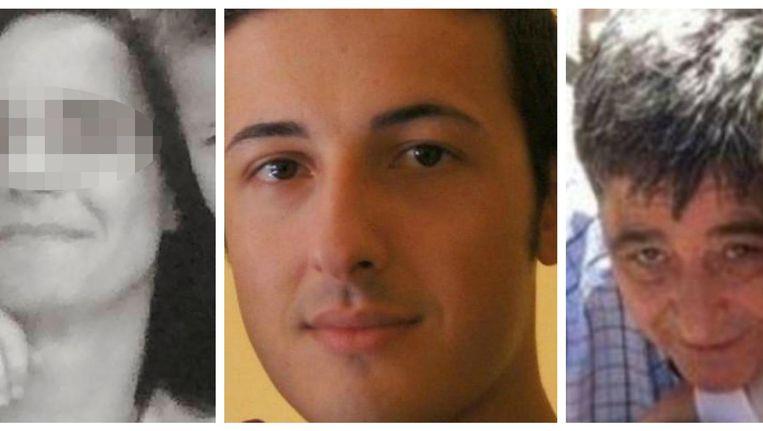 De Belgische Elke V., Italiaan Bruno Gulotta en Spanjaard Francisco López Rodríguez zijn drie van de dertien dodelijke slachtoffers. Francisco's echtgenote (rechts op de foto) ligt zwaargewond in het ziekenhuis. Beeld RV