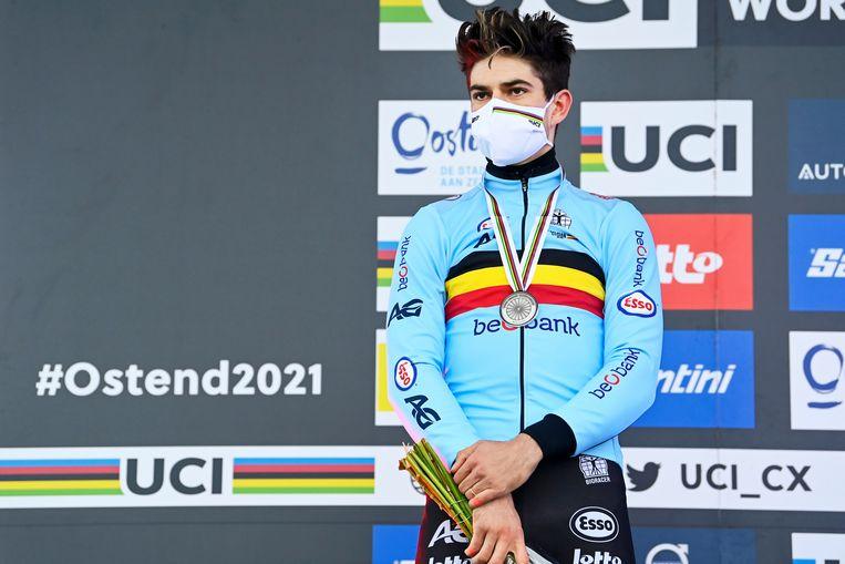 Wout Van Aert moet niet meer kiezen tussen de Tour of de Olympische Spelen. Beeld Photo News