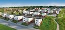 Impressie van de duurzame, slimme woningen aan de Houtse Akker in Helmond.