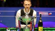 Wereldkampioen Trump is verkozen tot Snookerspeler van het Jaar