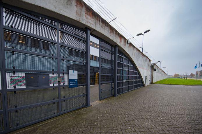 De gevangenis van Lelystad.