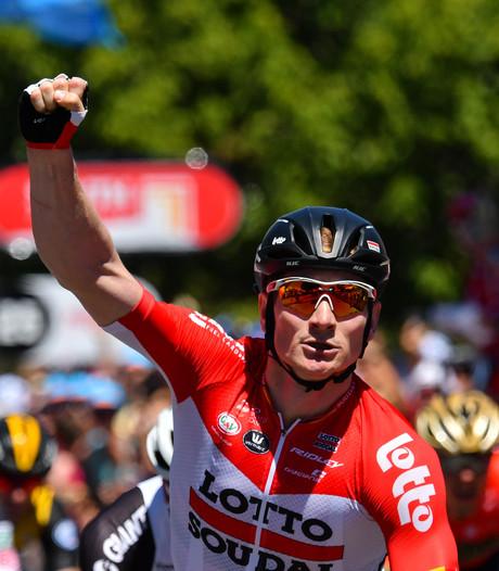 Greipel sprint naar ritzege en eerste leiderstrui in Tour Down Under