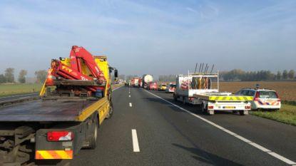 Hinder op A12 door dodelijk ongeval in Nederland