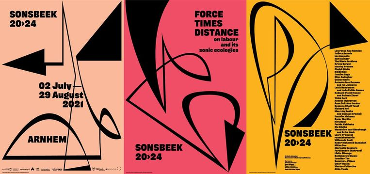 Poster van Sonsbeek 20->24. Beeld Sonsbeek 20->24