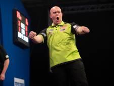 Van Gerwen eenvoudig ronde verder in Players Championship Finals