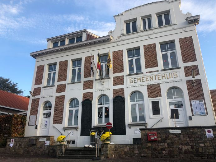 Het gemeentehuis van Gooik.