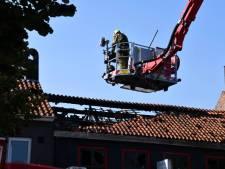 Brand in bakkerij in Oostburg; naastgelegen restaurant blijft gespaard