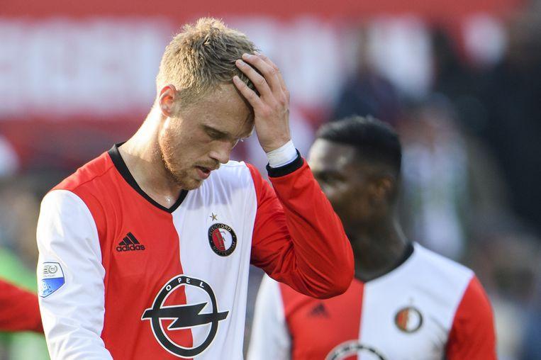Feyenoord-speler Nicolai Jorgensen. Beeld anp
