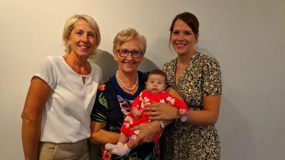 Geboorte kleine Florence zorgt voor viergeslacht