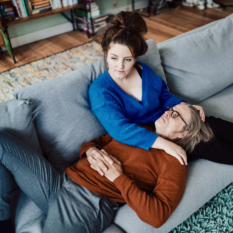 Lize Spit en Rob van Essen. Beeld Thomas Sweertvaegher